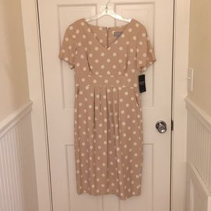 Pure Coll. Empire waist dress classic polka dot